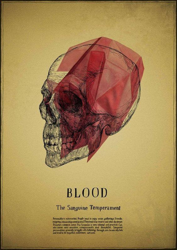 BIrina Sidorova Blood Sanguine httpswww-behance.netgallery4-Humours-539062