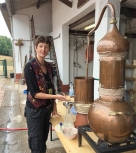 cathy-distilling-in-germany
